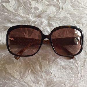 Brown Coach Sunglasses